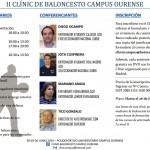 Segundo Día del II Clínic Baloncesto Campus Ourense