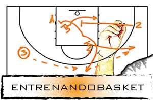 En esta imagen podemos ver el logo de la web entrenandobasket.es