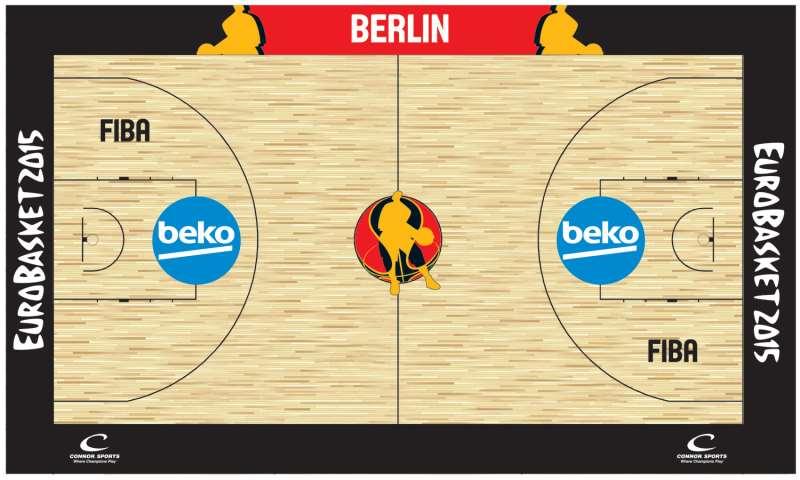 Eurobasket 2015 historia ol mpica historia del for Basketball court cost estimate
