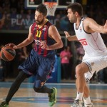 Victoria del Barcelona ante el Madrid: 85 a 80 (+5) en el Top 16 (@Euroleague)