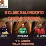 Clínic Ourense: Salva Maldonado, Jota Cuspinera y Jesús Sala, Tiempo de Formación