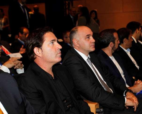 """Xavi Pascula y Pablo Laso, 2 de los 5 Entrenadores Campeones de Liga ACB Invitados a la Presentación de la Liga, """"Una Liga de Oro"""""""