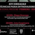 (Vídeo) Zona Press: Jota Cuspinera y Diego Ocampo (XIV Clínic para Entrenadores)