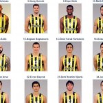 Fenerbahce, 15 Jugadores (@Euroleague #FinalFour 2016 de Berlin, #F4GLORY)