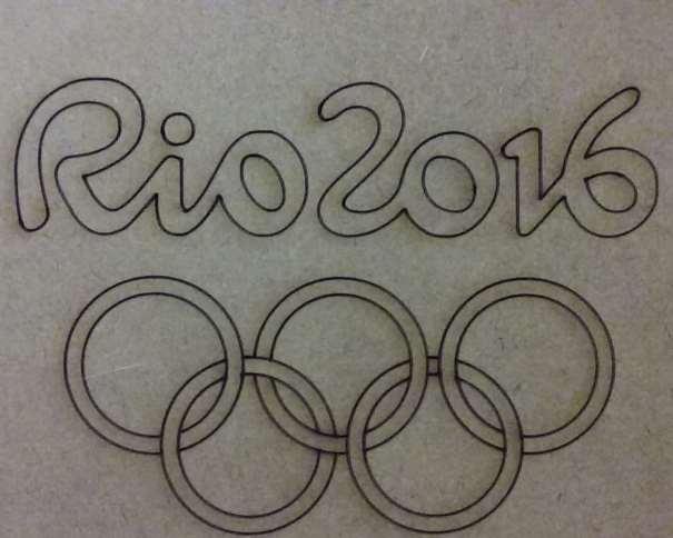 En esta foto podemos ver la tapa de la cajita que contiene las 17 monedas conmemorativas de los Juegos Olímpicos de Río 2016