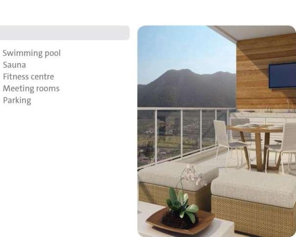 """En esta foto podemos ver las Mentiras sobre el equipamiento de la terracita del Apartamento de la """"Maravillosa"""" Villa para Medios (Media Village) BV1"""