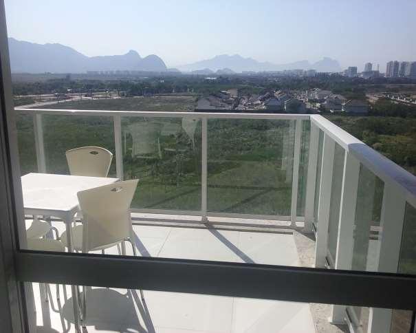 """En esta foto podemos ver el verdadero equipamiento de la terracita del Apartamento de la """"Maravillosa"""" Villa para Medios (Media Village) BV1"""