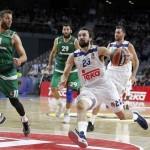 Ajustada Victoria del Madrid (@EuroLeague, Panathinaikos): MVP (23) Sergio Llull