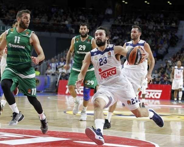 En esta foro podemos ver a Llull, MVP y Máximo Anotador de la Séptima Jornada de la @EuroLeague 2016-2017 (con 27 de Valoración y 30 Puntos Anotados) Foto: euroleague.net