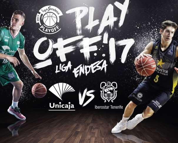 En esta imagen, facilitada por la Liga ACB, podemos ver a 2 Jugadores Exteriores, (16) Némaña Nédovitch, del Málaga, y (5) Nico Richotti, del Tenerife
