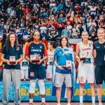 """Jugadoras del """"Quinteto Ideal"""" del #EurFem 2017 (#EuroBasketWomen2017)"""