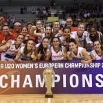 Novena Medalla Consecutiva #SelFemU20 (#EurFemU20 #FIBAU20Europe, MVP)