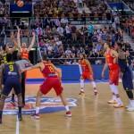 16 Quintetos en pista Distintos (#SelMas FEB 2017, Preparación, #EuroBasket2017)