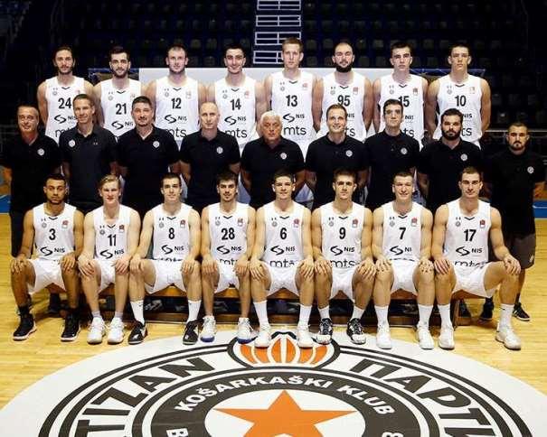 BC Partizan  Photo: kkpartizan.rs