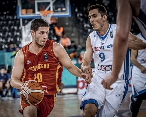 20 Nikola Ivanovic (MNE) - Czech Republic v Montenegro, 2017 FIBA EuroBasket Final Round, Cluj Napoca - Polyvalent Hall(ROU), Group Phase, 5 September 2017 Photo: FIBA