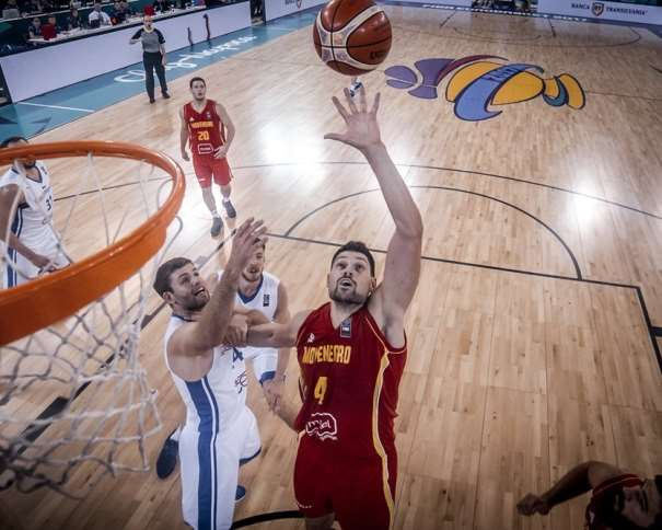 4 Nikola Vucevic (MNE) - Czech Republic v Montenegro, 2017 FIBA EuroBasket Final Round, Cluj Napoca - Polyvalent Hall(ROU), Group Phase, 5 September 2017  Photo: FIBA