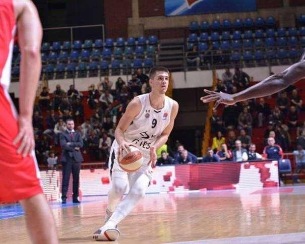 (9) Vanja Marinković Photo: Dragana Stjepanović (facebook.com/bcpartizan/)