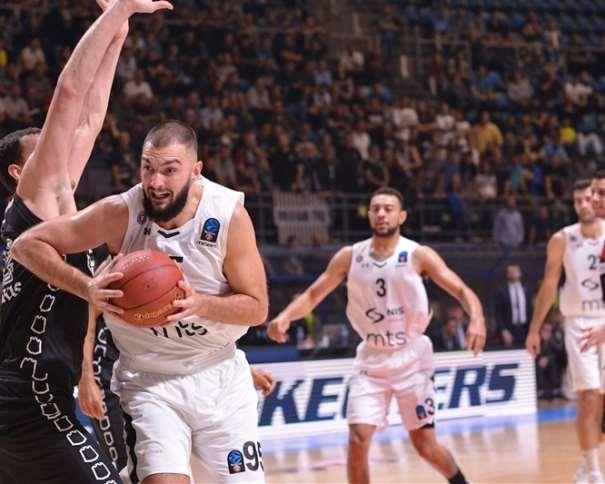 Doko Salic - Partizan NIS Belgrade (photo Partizan)