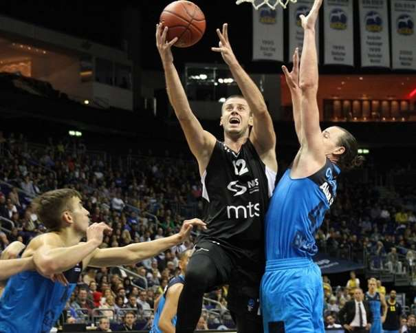 Novica Velickovic - Partizan NIS Belgrade (photo ALBA)
