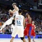 Victoria del Madrid ((7) Luka Dončić MVP) y Derrota del Baskonia (@EuroLeague)