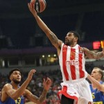 Red Star home court Win against Maccabi, Partizan in Zagreb against Cibona