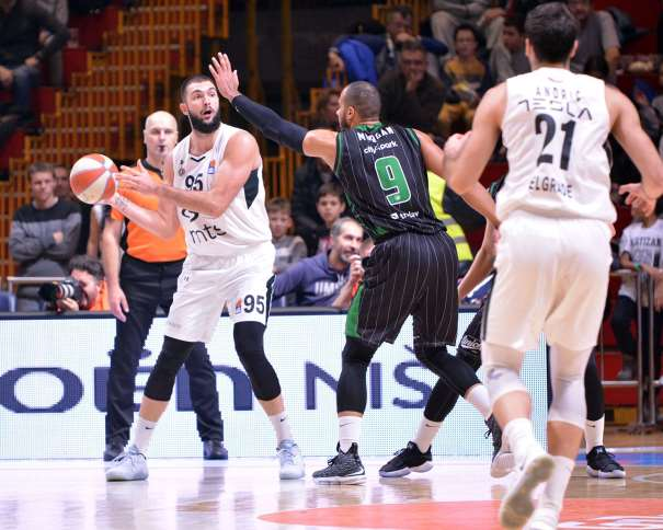 Djoko Salic (Photo: Partizan NIS)