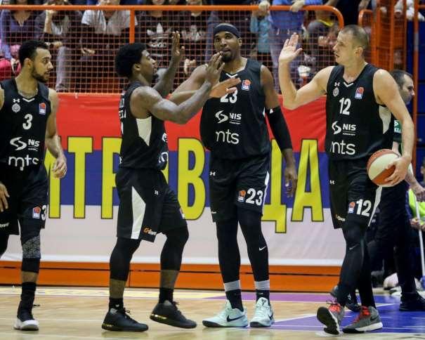 Partizan NIS team (Photo: Mega Bemax/Ivica-Veselinov)