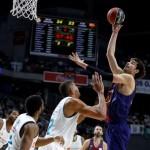El Barcelona ACB (como Equipo Visitante) Derrota al Madrid (Partido Igualado, MVP)
