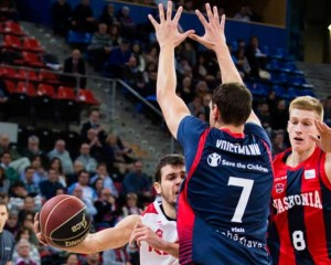 (7) Johannes Voigtmann, MVP de lo que va de Jornada ACB Photo/I. Martín