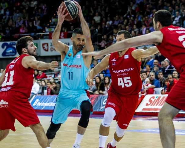 (11) Juan Carlos Navarro, MVP del Barcelona, con 21 de Valoración en los 15:59 que llegó a disputar ACB Photo/E. Casas
