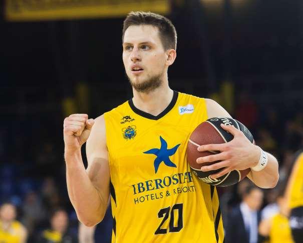 (20) Mateusz Ponitka, MVP de la Jornada ACB Photo/V. Salgado