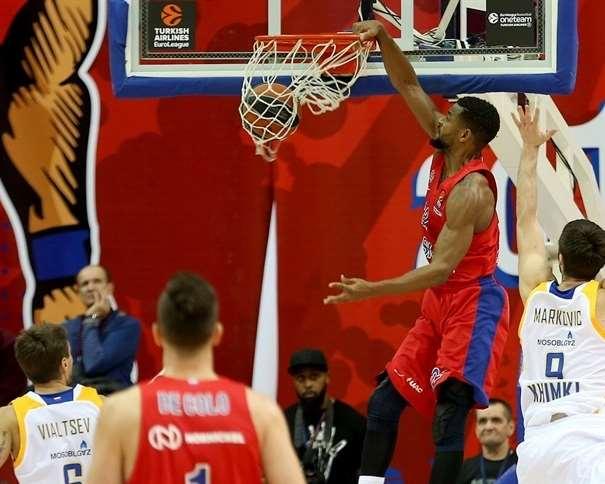 (22) Cory Higgins, Co-MVP de la Decimocuarta Jornada de la Regular Season de la @EuroLeague 2017-2018 Foto: euroleague.net