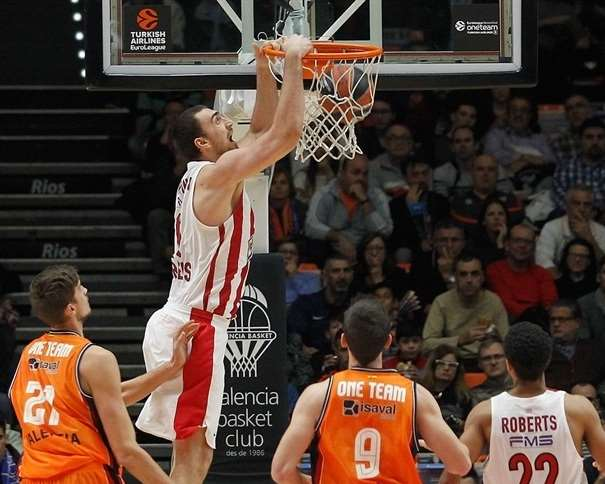 Nikola Milutinov Foto: euroleague.net