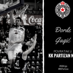 Black and Whites with a new centre against Zadar (@ABA_League, @PartizanBC)