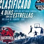 Quintetos Iniciales, Clasificación #CopaACB (Baskonia, Málaga y Tenerife, Sorteo)