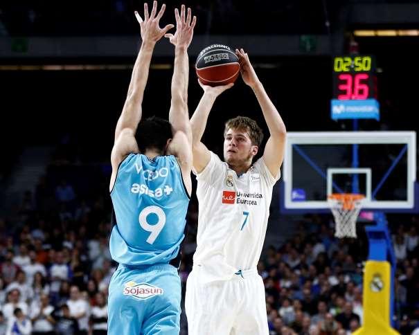 El No Balcánico (7) Luka Dončić (pronunciado Dónchitch), MVP e la Jornada 14 de la ACB (y del mes de diciembre) ACB Photo / V. Carretero