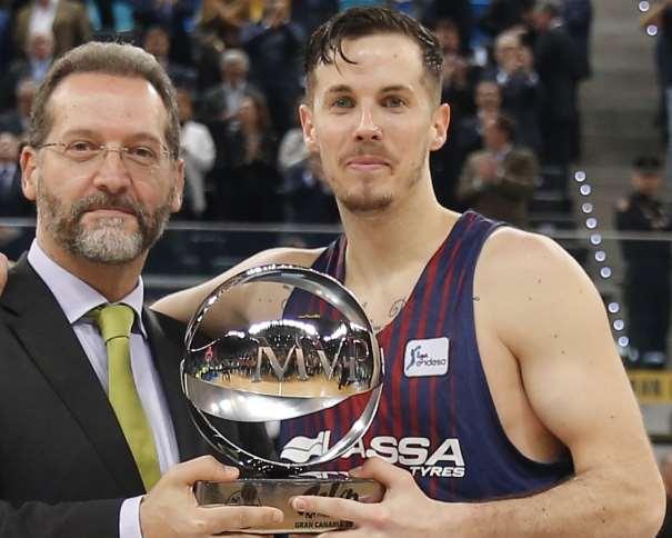 (13) Thomas Heurtel, MVP de la #CopaACB 2018 de Las Palmas de Gran Canaria ACB Photo