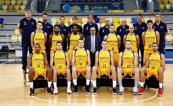 Gran Canaria Foto tomada de eurocupbasketball.com