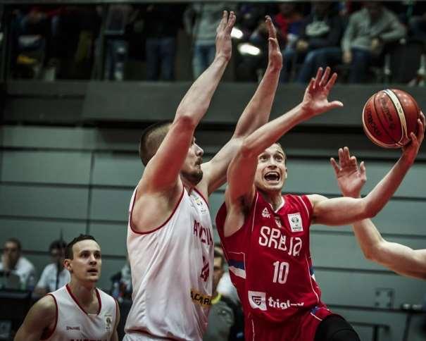 10 Aleksa Avramovic (SRB) 10 Aleksa Avramovic (SRB) - Austria v Serbia, 2019 FIBA Basketball World Cup 2019 European Qualifiers, Schwechat -Multiversum(AUT), First Round, 25 February 2018