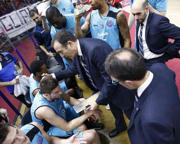 Banquillo del Estudiantes Foto: championsleague.basketball/es/17-18
