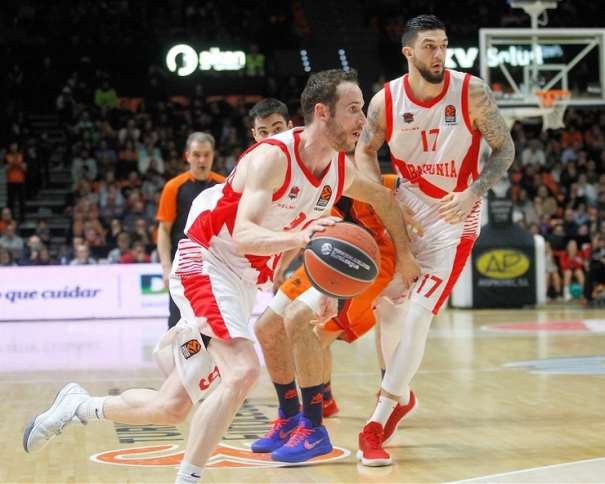 (9) Marcelinho Huertas Foto: euroleague.net