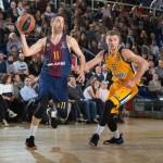 Victorias del Barcelona y del Málaga y Derrota del Baskonia (@EuroLeague)