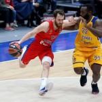 CSKA – Khimki (2-0) y Panathinaikos – Madrid (1-1, @EuroLeague, Playoffs, MVP)
