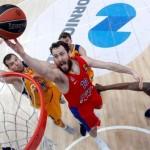 CSKA – Khimki y Panathinaikos – Madrid, 1 a 0 (@EuroLeague, Playoffs, MVP)