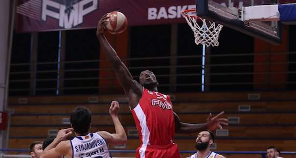 FMP - Metalac  Photo: Košarkaška liga SRB @KLSrbije Serbian Basketball League official twitter account. #KLSRB
