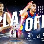 1 a 0 para el Madrid y el Baskonia y 0 a 1 para el Andorra (Playoffs ACB, Cuartos)