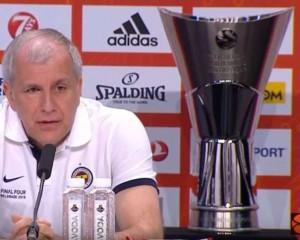 Željko Obradović, Championship Game Press Conference