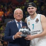 Madrid, Champion; Dončić, MVP, Žalgiris, Third (@EuroLeague Final Four 2018)