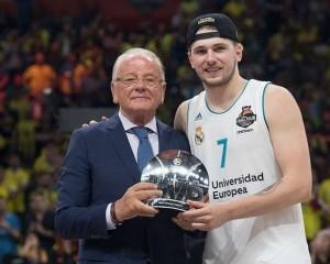 Luka Doncic, Final Four MVP - Real Madrid - Belgrade 2018 euroleague.net