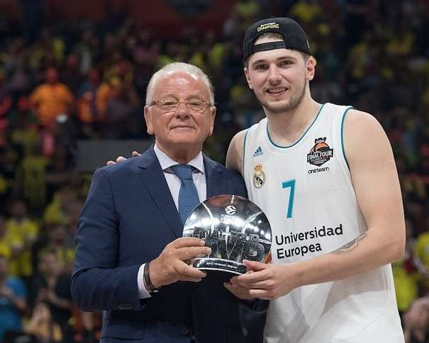 Luka Doncic, Final Four MVP - Real Madrid - Belgrade 2018 euroleague.net
